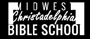 Midwest Christadelphian Bible School Logo 5x
